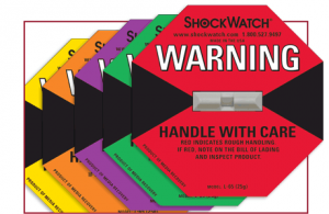 A shockwatch label. At least, I think they will look like this..